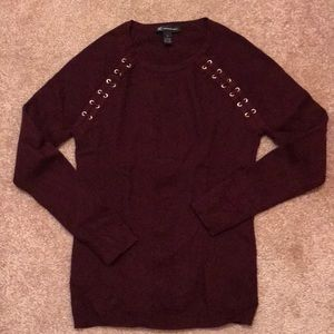 INV International Concepts burgundy sweater